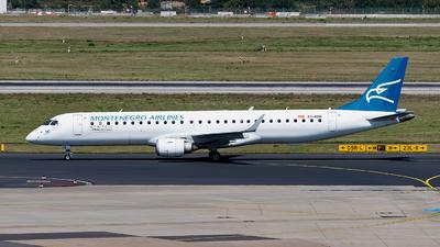 A picture of 4OAOB - Embraer E195LR - Montenegro Airlines - © Sebastian Thiel