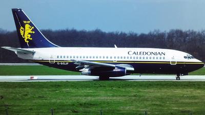 G-BGJF - Boeing 737-236(Adv) - Caledonian Airways