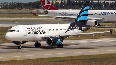 5A-ONC - Airbus A319-111 - Afriqiyah Airways