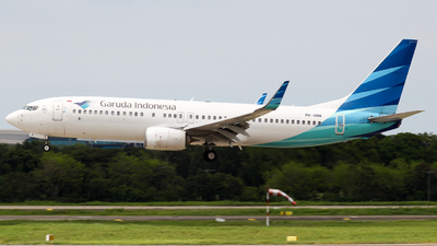 PK-GNN - Boeing 737-86N - Garuda Indonesia