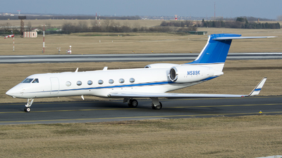 N589K - Gulfstream G550 - Private