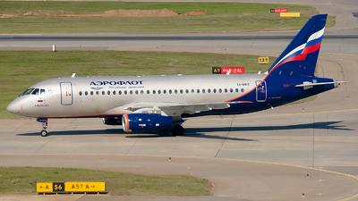 RA-89113 - Sukhoi Superjet 100-95B - Aeroflot