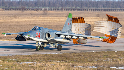 RF-91956 - Sukhoi Su-25SM Frogfoot - Russia - Air Force