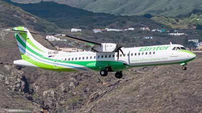 A picture of ECNDD - ATR 72600 - Binter Canarias - © Photography  Jc  la Palma