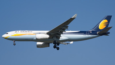 VT-JWE - Airbus A330-243 - Jet Airways