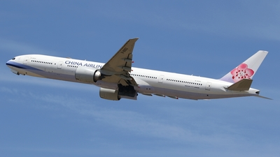 B-18052 - Boeing 777-36NER - China Airlines