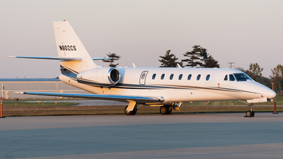 N602CS - Cessna 680 Citation Sovereign - Private