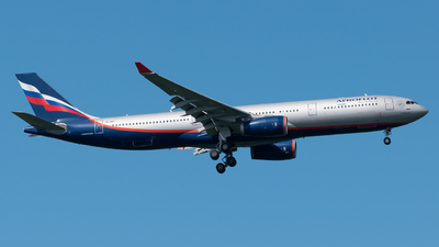 A picture of VQBQY - Airbus A330343 - Aeroflot - © Paolo Zonca