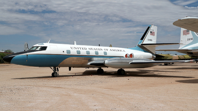 61-2489 - Lockheed VC-140B Jetstar - United States - US Air Force (USAF)