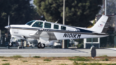 N101KM - Beechcraft A36 Bonanza - Private