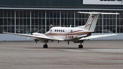 A picture of DICKM - Beech B200 Super King Air - [BB1005] - © Karl K.