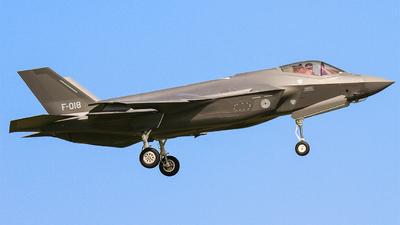 F-018 - Lockheed Martin F-35A Lightning II - Netherlands - Royal Air Force