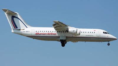 ZA-MEV - British Aerospace BAe 146-300 - Albanian Airlines