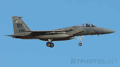 84-0018 - McDonnell Douglas F-15C Eagle - United States - US Air Force (USAF)