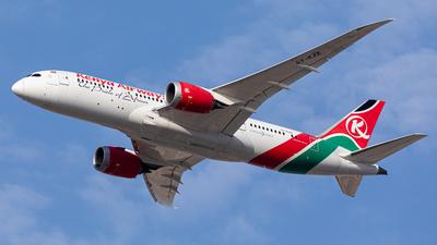 A picture of 5YKZE - Boeing 7878 Dreamliner - Kenya Airways - © Mehdi Nazarinia