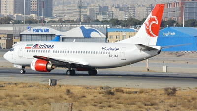 EP-TAF - Boeing 737-332 - ATA Airlines [Iran]