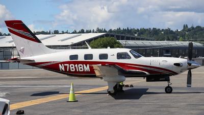 N7818M - Piper PA-46-500TP Malibu Meridian - Private