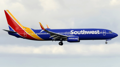 A picture of N8320J - Boeing 7378H4 - Southwest Airlines - © Paul Y. M. Chow - AHKGAP