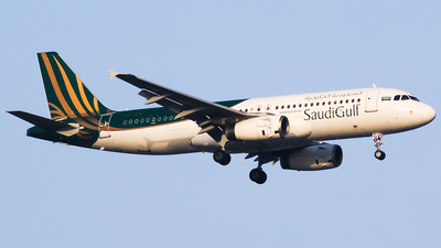 LZ-BHG - Airbus A320-232 - SaudiGulf Airlines