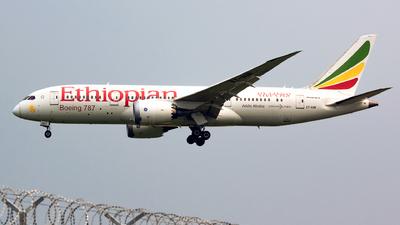 ET-AOR - Boeing 787-8 Dreamliner - Ethiopian Airlines