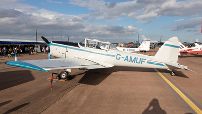 G-AMUF - De Havilland Canada DHC-1 Chipmunk - Private