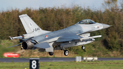 J-644 - General Dynamics F-16AM Fighting Falcon - Netherlands - Royal Air Force