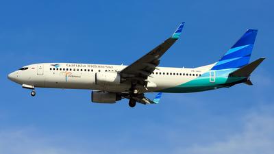 PK-GFC - Boeing 737-86N - Garuda Indonesia