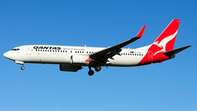 A picture of VHVXN - Boeing 737838 - Qantas - © Jay Cheung