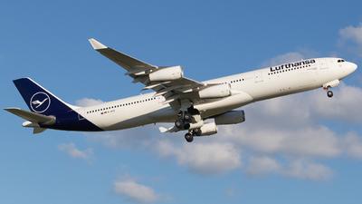 D-AIFD - Airbus A340-313X - Lufthansa