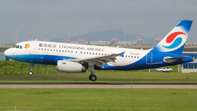 A picture of B6248 - Airbus A319133 - Chongqing Airlines - © Flight Tuan