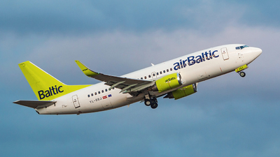 A picture of YLBBJ - Boeing 73736Q - Air Baltic - © Limare.atc