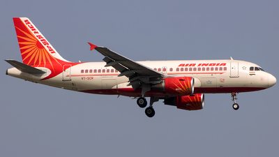 A picture of VTSCR - Airbus A319112 - Air India - © Aneesh Bapaye