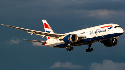 A picture of GZBJD - Boeing 7878 Dreamliner - British Airways - © Derek MacPherson