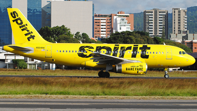 N504NK - Airbus A319-132 - Spirit Airlines