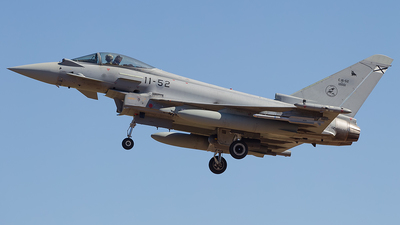C.16-52 - Eurofighter Typhoon EF2000 - Spain - Air Force