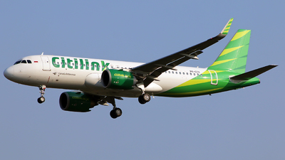 A picture of PKGTC - Airbus A320251N - Citilink - © Angga PR