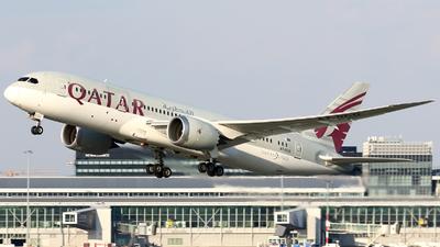 A picture of A7BCO - Boeing 7878 Dreamliner - Qatar Airways - © Pawel Cieplak