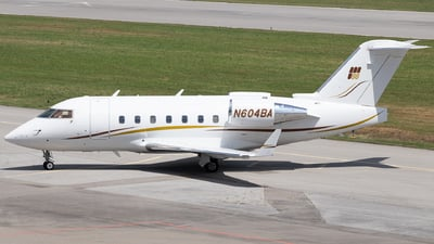 N604BA - Bombardier CL-600-2B16 Challenger 604 - Private