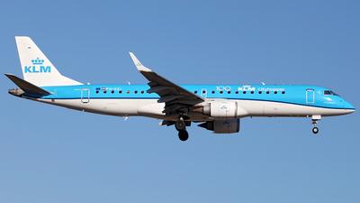 A picture of PHEZI - Embraer E190STD - KLM - © Tombarelli Alessandro