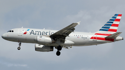 N822AW - Airbus A319-132 - American Airlines