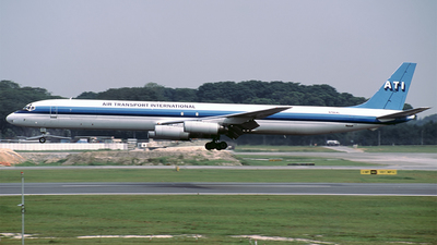 N786AL - Douglas DC-8-63(F) - Air Transport International (ATI)