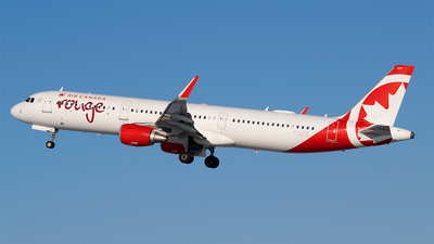 A picture of CGJTH - Airbus A321211 - Air Canada Rouge - © RZ