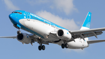 A picture of LVFUB - Boeing 7378HX - Aerolineas Argentinas - © dario_spotter
