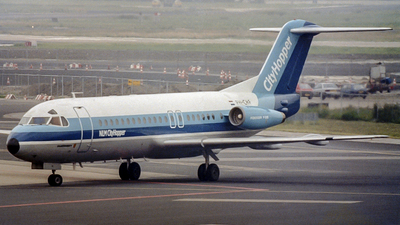 PH-CHF - Fokker F28-4000 Fellowship - NLM CityHopper