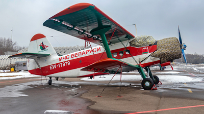 EW-17979 - PZL-Mielec An-2 - Belarus - Ministry for Emergency Situations (MChS)