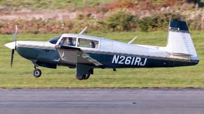 N261RJ - Mooney M20K-231 - Private