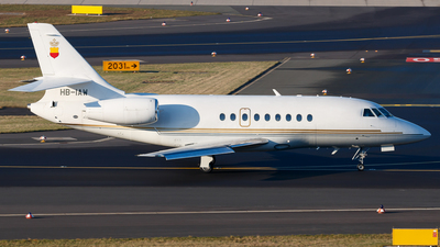HB-IAW - Dassault Falcon 2000 - Starjet Establishment for Aviation