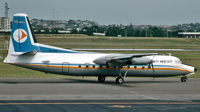 VH-EWR - Fokker F27-500 Friendship - East-West Airlines