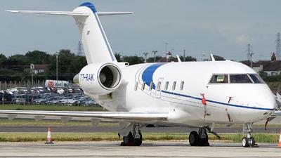 T7-RAK - Bombardier CL-600-2B16 Challenger 604 - Private