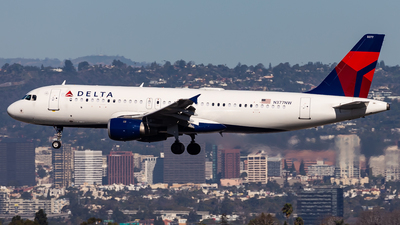 A picture of N377NW - Airbus A320211 - Delta Air Lines - © Brandon Giacomin